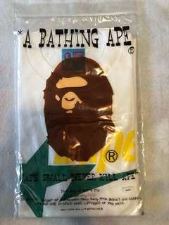 全新正版 A Bathing Ape HK limited  Bape Tee T Shirt Size L
