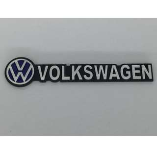 VW Volkswagen Logo 3D Car Aluminum Emblem Trunk Decal Volkswagen Cars