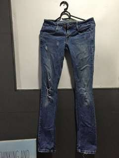 Authentic American Eagle Outfitters Distressed Jeans