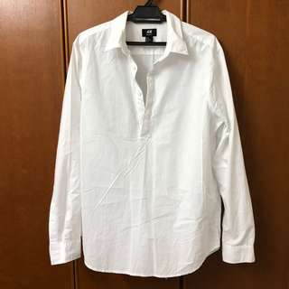 H&M White Shirt (Male Cutting) (FREE POSTAGE)
