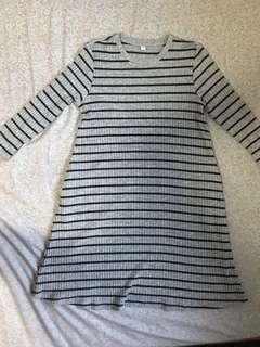 Uniqlo Dress - Gray