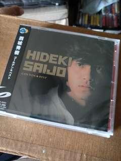 Japan cd, Hideki Saijo Golden best, brand new