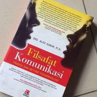 Buku filsafat komunikasi: tradisi dan metode fenomenologi
