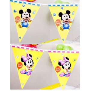 (12/5) Baby boy / Baby girl Party Flags Buntings Banner (full month , newborn , baby shower)