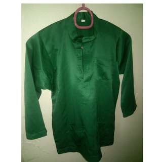 Preloved Baju Melayu (Emerald Green) for kids
