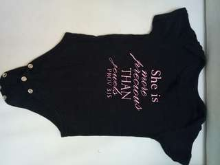 PERSONALIZED ONESIES- 75each fixed price.