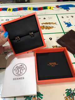 Hermes pop h earring