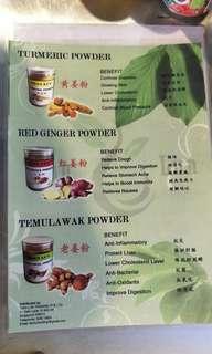 Indonesia tumeric powder