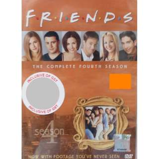 English Drama Friends The Complete Fourth Season DVD