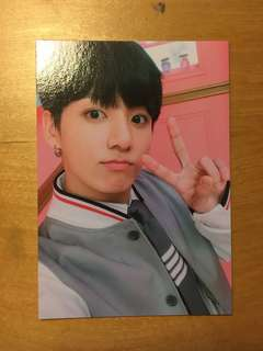 JUNGKOOK BTS BANGTAN BOYS OFFICIAL 4TH MUSTER HAPPY EVER AFTER BINDER PHOTOCARD PHOTO CARD KPOP CONCERT