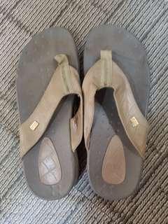 Grayish Brown Slip Ons