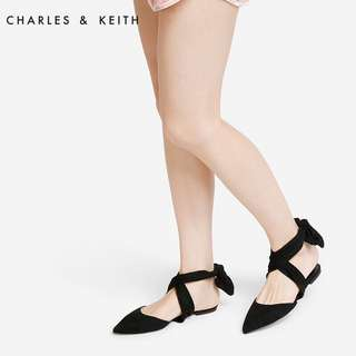 [AUTHENTIC] Charles & Keith Black Shoes