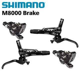 🆕! Shimano XT M8000 MTB Hydraulic Brakes   ( Front and Rear )   #OK     MTB / Fixie / Mountain Bike / Road Bike / Enduro / Downhill / Freeride / Bicycle / Bmx / Fat Bike / Escooter