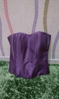 Camisol Bustier -Zipper #1