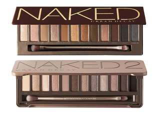 Urban decay naked palette 1 & 2