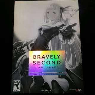 Bravely Second End Layer collector edition