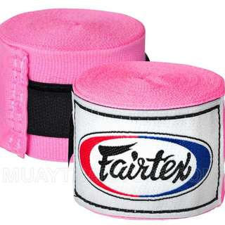 "Fairtex Muay Thai Handwrap 180"" - Pink"