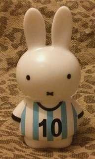中古 非賣品 - Q版 Miffy 足球員 - 阿根廷