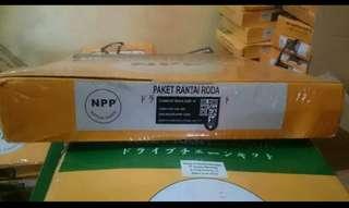 Gear set chain kit NINJA 250R - H