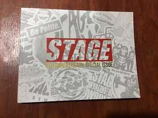 Stage Limited addition Stickers Collection Book