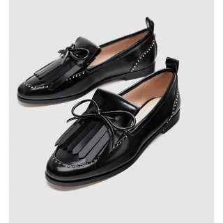 [AUTHENTIC] Zara Faux Patent Leather Loafer