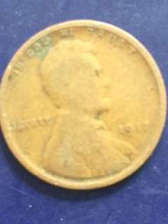 USA 1 Cent 1917, VG