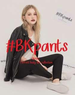 全新pazzo MIT#BK101經典顯瘦合身黑褲