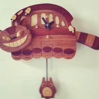 日本匠人手工打造宮崎駿掛鐘