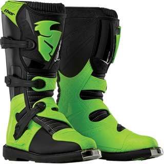 Thor Youth Blitz Boot Green