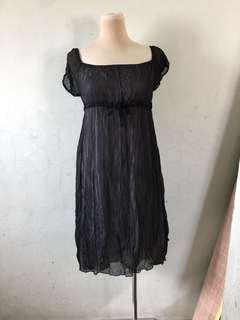 🚚 黑色長裙M-L