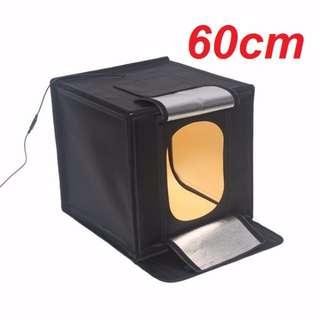 🛒60cm Life LED Photo Studio Light Tent Kit