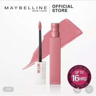 Maybelline Stay Matte Ink Liquid Lipstick, Shade 10 Dreamer