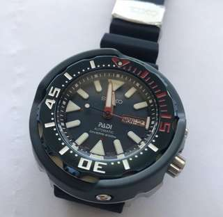 """Brand New Seiko - wrong spelling """"editoin"""" divers"""