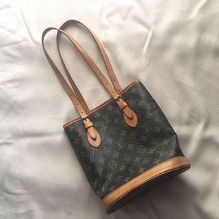 Authentic Louis Vuitton Bucket Bag Small