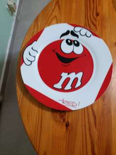m&m 阿紅 碟 Red Plate