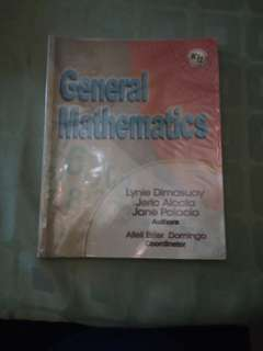 GENERAL MATHEMATICS ( Dimasuay, Alcala & Palacio)