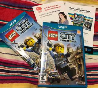 Lego City Undercover Wii U Nintendo Game