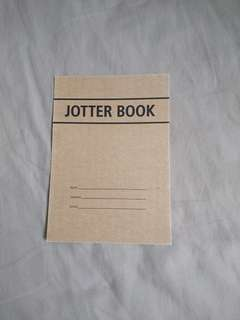 Jotter book postcard