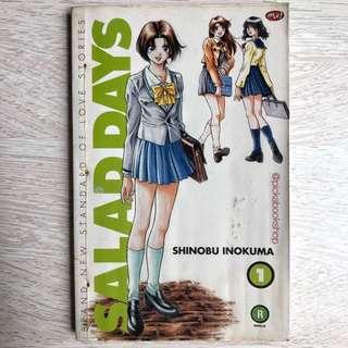 Komik M&C - Salad Days No 1 - Shinobu Inokuma
