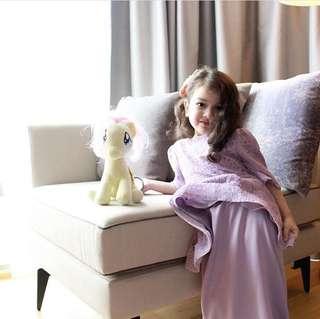 BelleBabiesDesign Lilac Dress