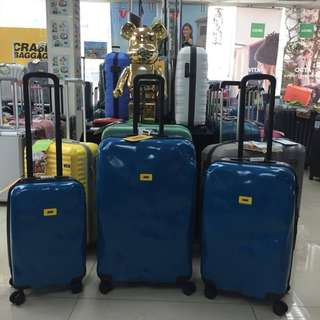 阿豪 新貨到著 意大利品牌 Crash Baggage 特別 油漆藍色 行李箱 數量有限 原裝正品