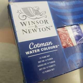 Winsor Newton Cotman 12 Tube Set