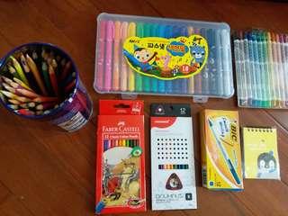 Color pencils total 59