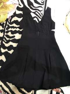 """REPRICED!! """"Do+Be/ PRP/ People are People"""" cutout dress"""