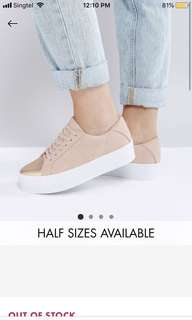 ASOS trainers/sneakers
