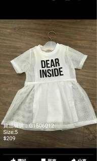 韓國品牌女童裝連身裙