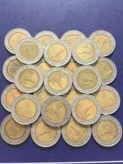 Thailand Old Coin , 25 pcs , include normal mailing charge