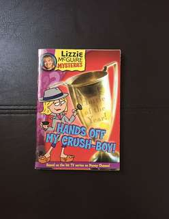 Hands off my crush story book