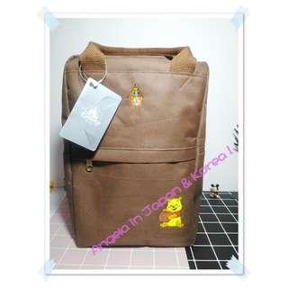 🚚 (現貨) 日本代購 日本迪士尼商店 小熊維尼帆布兩用背包