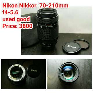 Nikon Nikkor  70-210mm f4-5.6